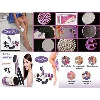 Derma Seta-Hair Remover Complete Mini Face Massager+Skin Massager