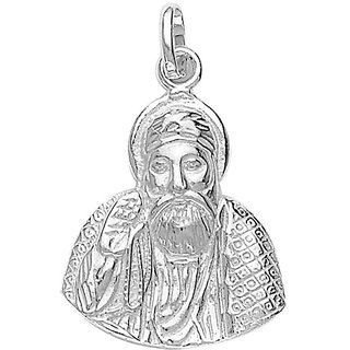 Sterling Silver  Guru Nanak Pendant By Taraash
