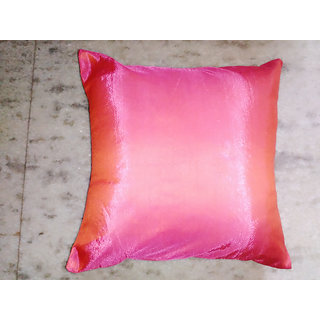 cushion cover set in pink