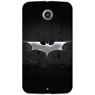 Absinthe Superheroes Batman Dark knight Back Cover Case For Google Nexus 6