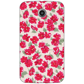 Absinthe Floral Pattern  Back Cover Case For Google Nexus 6
