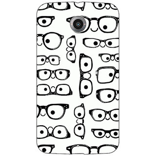 Absinthe Glasses Pattern Back Cover Case For Google Nexus 6
