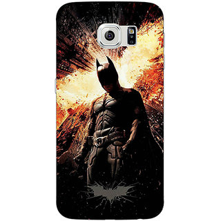 Absinthe Superheroes Batman Dark knight Back Cover Case For Samsung S6