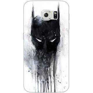 Absinthe Superheroes Batman Dark knight Back Cover Case For Samsung S6