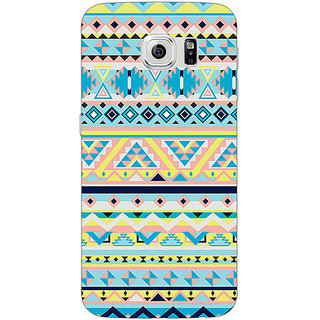 Absinthe Aztec Girly Tribal Back Cover Case For Samsung S6