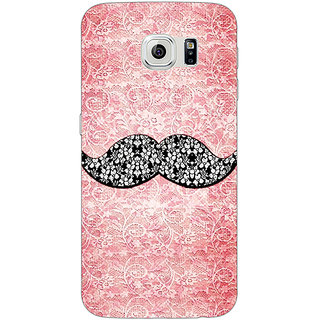 Absinthe Mustache Back Cover Case For Samsung S6