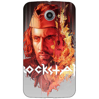 Absinthe Bollywood Superstar Ranbir Kapoor Rockstar Back Cover Case For Google Nexus 6