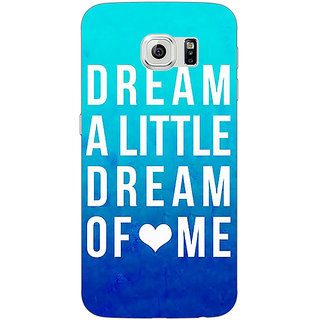 Absinthe Dream Love Back Cover Case For Samsung S6