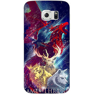 Absinthe Game Of Thrones GOT House Targaryen  Back Cover Case For Samsung S6