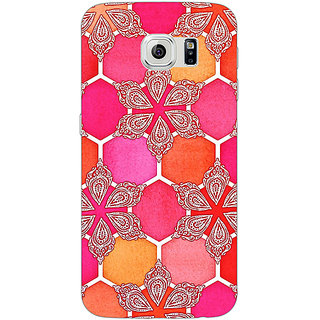 Absinthe Hot Winter Pattern Back Cover Case For Samsung S6