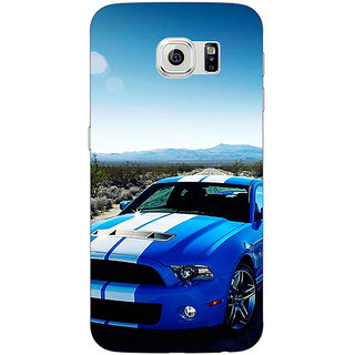 Absinthe Super Car Mustang Back Cover Case For Samsung S6