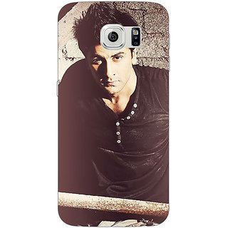 Absinthe Bollywood Superstar Ranbir Kapoor Back Cover Case For Samsung S6