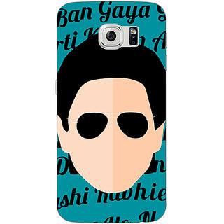 Absinthe Bollywood Superstar Shahrukh Khan Back Cover Case For Samsung S6