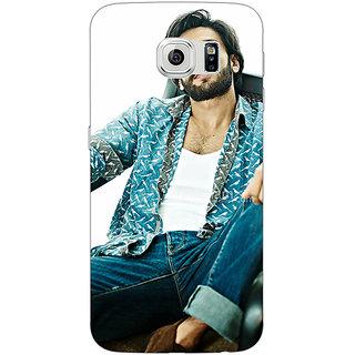 Absinthe Bollywood Superstar Ranveer Singh Back Cover Case For Samsung S6