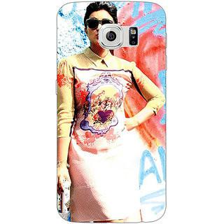Absinthe Bollywood Superstar Parineeti Chopra Back Cover Case For Samsung S6