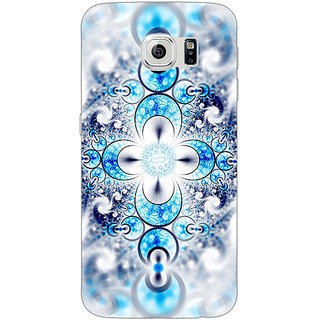 Absinthe Abstract Design Pattern Back Cover Case For Samsung S6