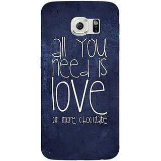 Absinthe Love Quote Back Cover Case For Samsung S6