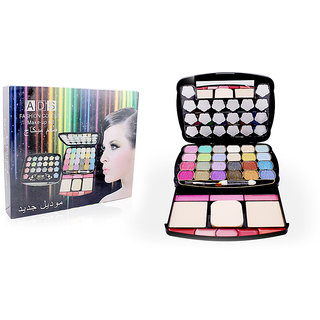 ADS FASHION COLOUR MAKE UP KIT FREE Liner  Rubber Band-ASOO