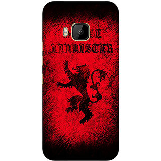 Absinthe Game Of Thrones GOT House Lannister  Back Cover Case For HTC M9