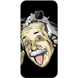 Absinthe Einstein Minimal Back Cover Case For HTC M9
