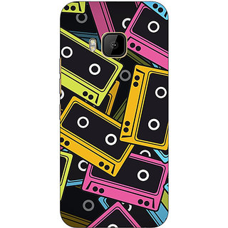 Absinthe Casettes Back Cover Case For HTC M9