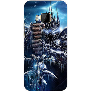 Absinthe World Of Warcraft Back Cover Case For HTC M9