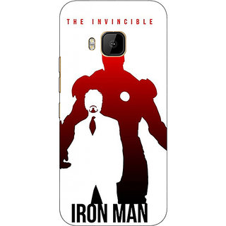 Absinthe Superheroes Ironman Back Cover Case For HTC M9