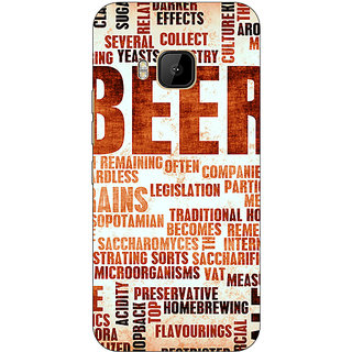 Absinthe Beer Quote Back Cover Case For HTC M9