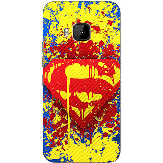 Absinthe Superheroes Superman Back Cover Case For HTC M9
