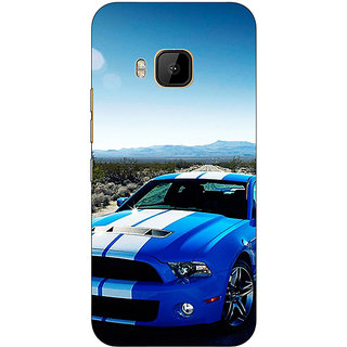 Absinthe Super Car Mustang Back Cover Case For HTC M9
