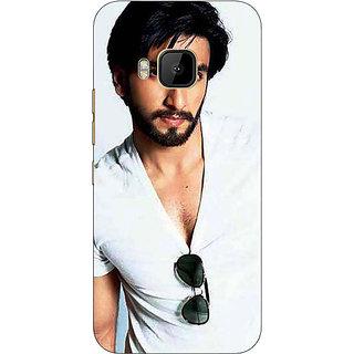 Absinthe Bollywood Superstar Ranveer Singh Back Cover Case For HTC M9