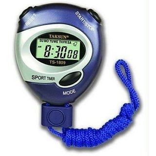 Taksun Handheld LCD Digital Professional Timer Sports Stopwatch Stop Watch