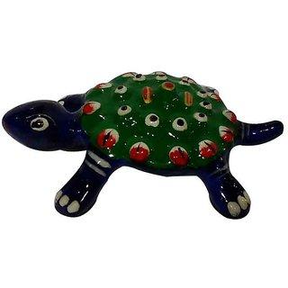 Cottage Handicraft Meenakari Tortoise Metal gift item