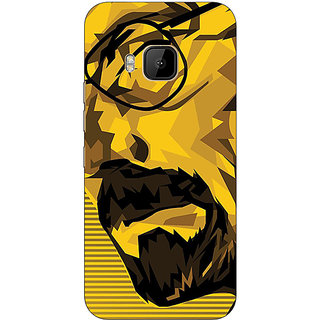 Absinthe Breaking Bad Heisenberg Back Cover Case For HTC M9