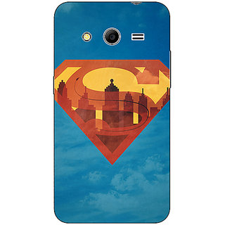 Absinthe Superheroes Superman Back Cover Case For Samsung Core 2