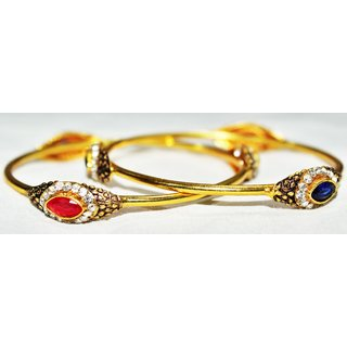 shreeji tricolour bangles for women