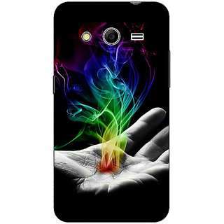 Absinthe Magic Hand Back Cover Case For Samsung Core 2