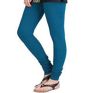 Navi Wings French Blue Cotton Leggings