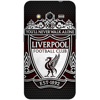 Absinthe Liverpool Back Cover Case For Samsung Core 2