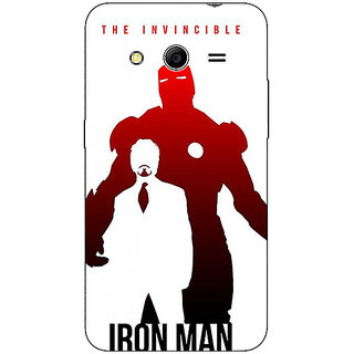 Absinthe Superheroes Ironman Back Cover Case For Samsung Core 2