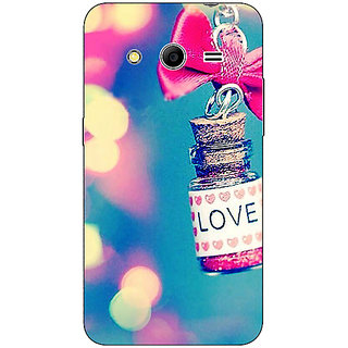 Absinthe Love Bottle Back Cover Case For Samsung Core 2