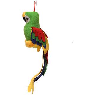 King Soft Toys Red Peddler Parrot