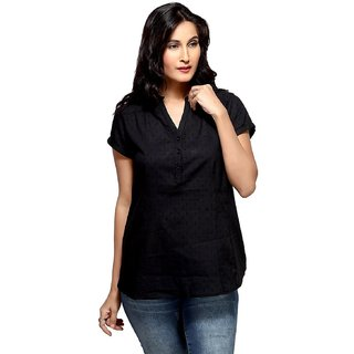 Womens Top With Black Color