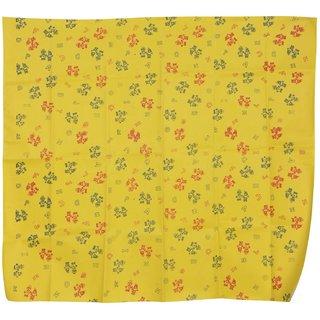 Shishu baby rubber mat  (90 cm) Yellow