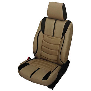 SAMSAN PU Leather Seat Cover for Mahindra Mobilio