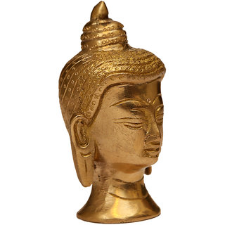 Craftartz Buddha Hood (Golden color, 3.8 inch)