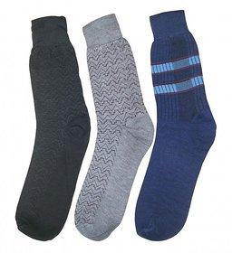 Multicolour Full Length Socks Pack Of 3