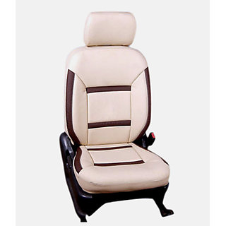 SAMSAN PU Leather Seat Cover for Maruti Ritz