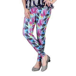 DeVry Designer Sleek  Sassy In A Bubble Print Leggings