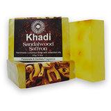 Khadi Soap Sandalwood Saffron ( Pack Of 3 )